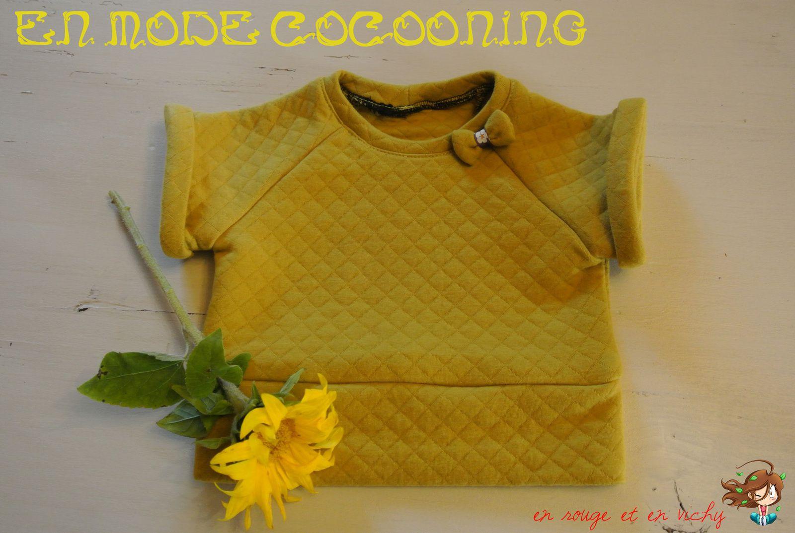 Autumn baby #2 : Sweat Cocooning banane