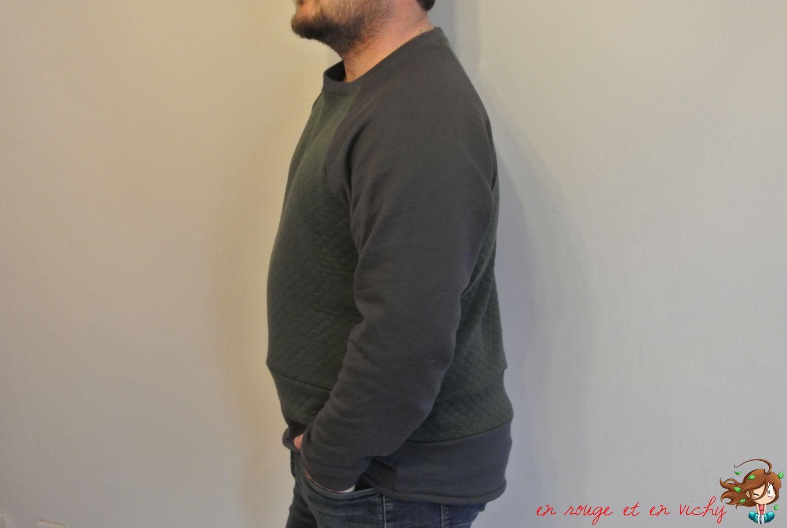 Le sweater chess de St Valentin raté...(défi Cap ou pas Cap inside)
