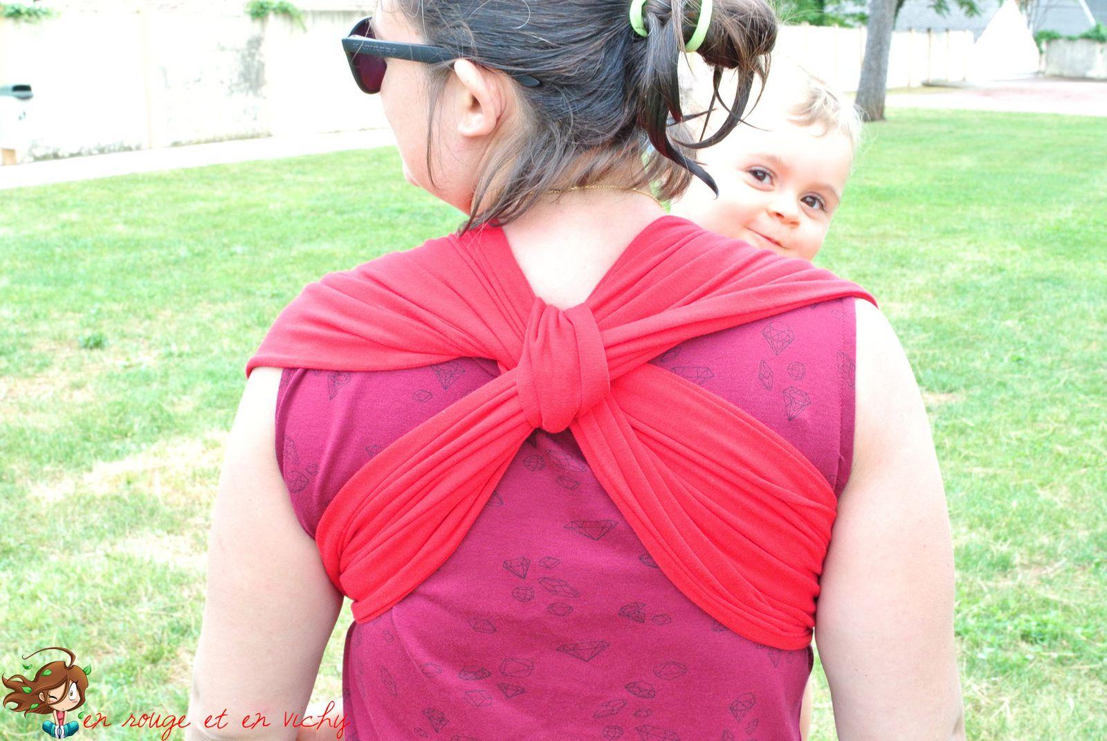 Echarpe de portage pour petit pimousse [Défi inside]