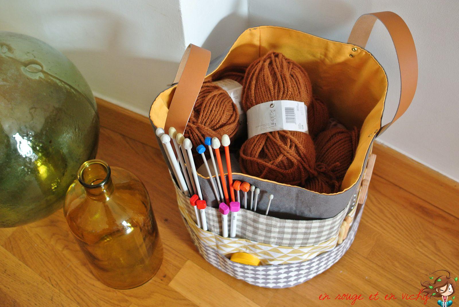 Le panier tricot de mamy [tuto inside]