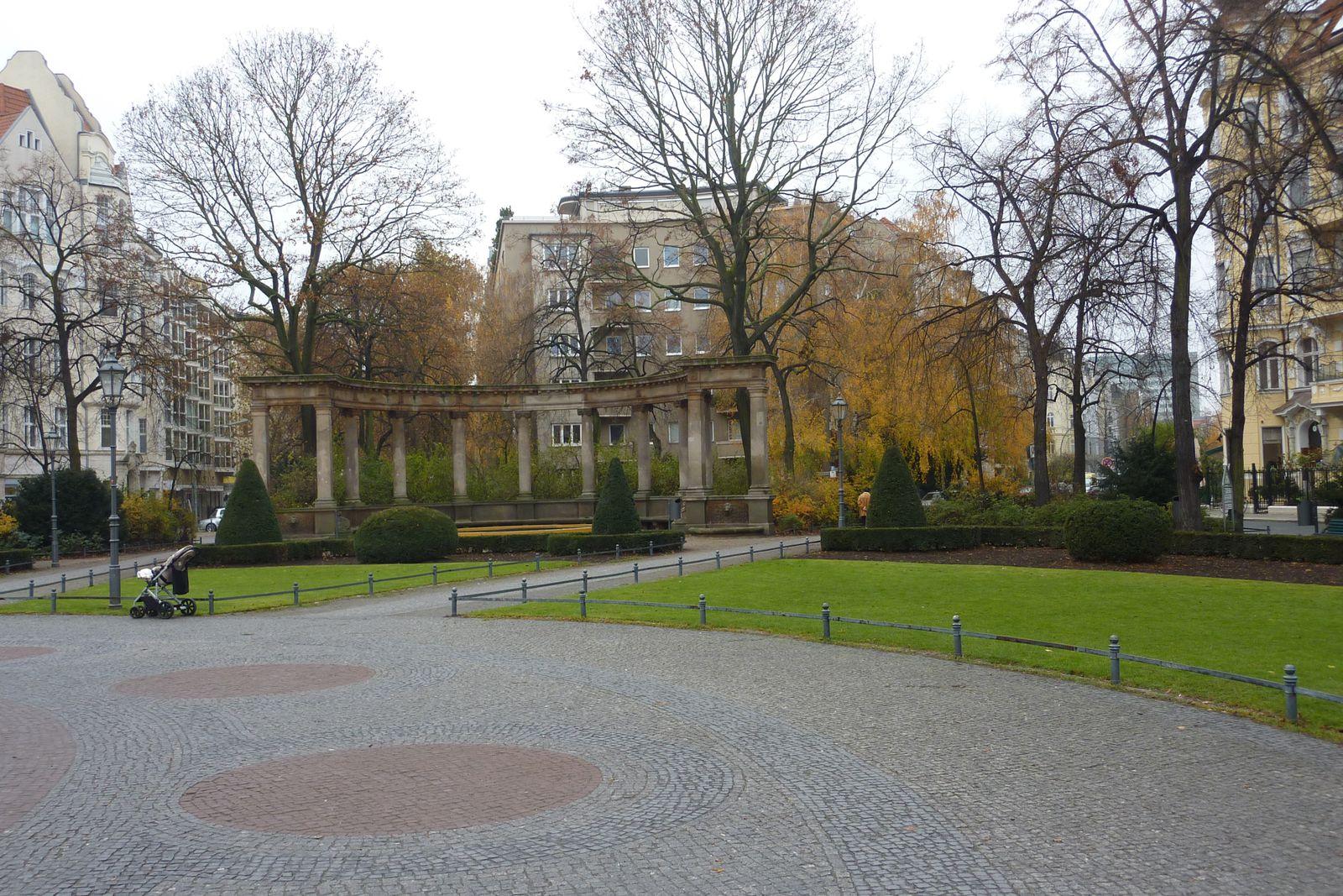 La Viktoria-Luise-Platz, un bel endroit pour une halte