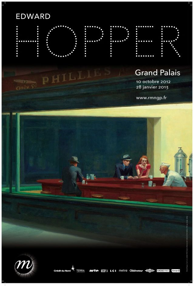Expo Edward Hopper au Grand Palais
