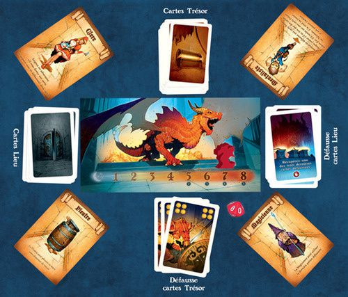 Dragon Run de Bruno Cathala et Ludovic Barbe (Editions Blue Orange)