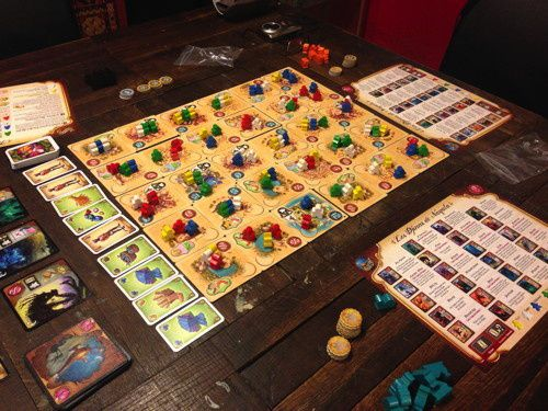 Five Tribes de Bruno Cathala (Editions Days of Wonder)