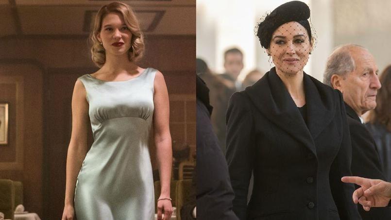 Les James Bond girls sont au rendez vous : Léa Seydoux et Monica Bellucci