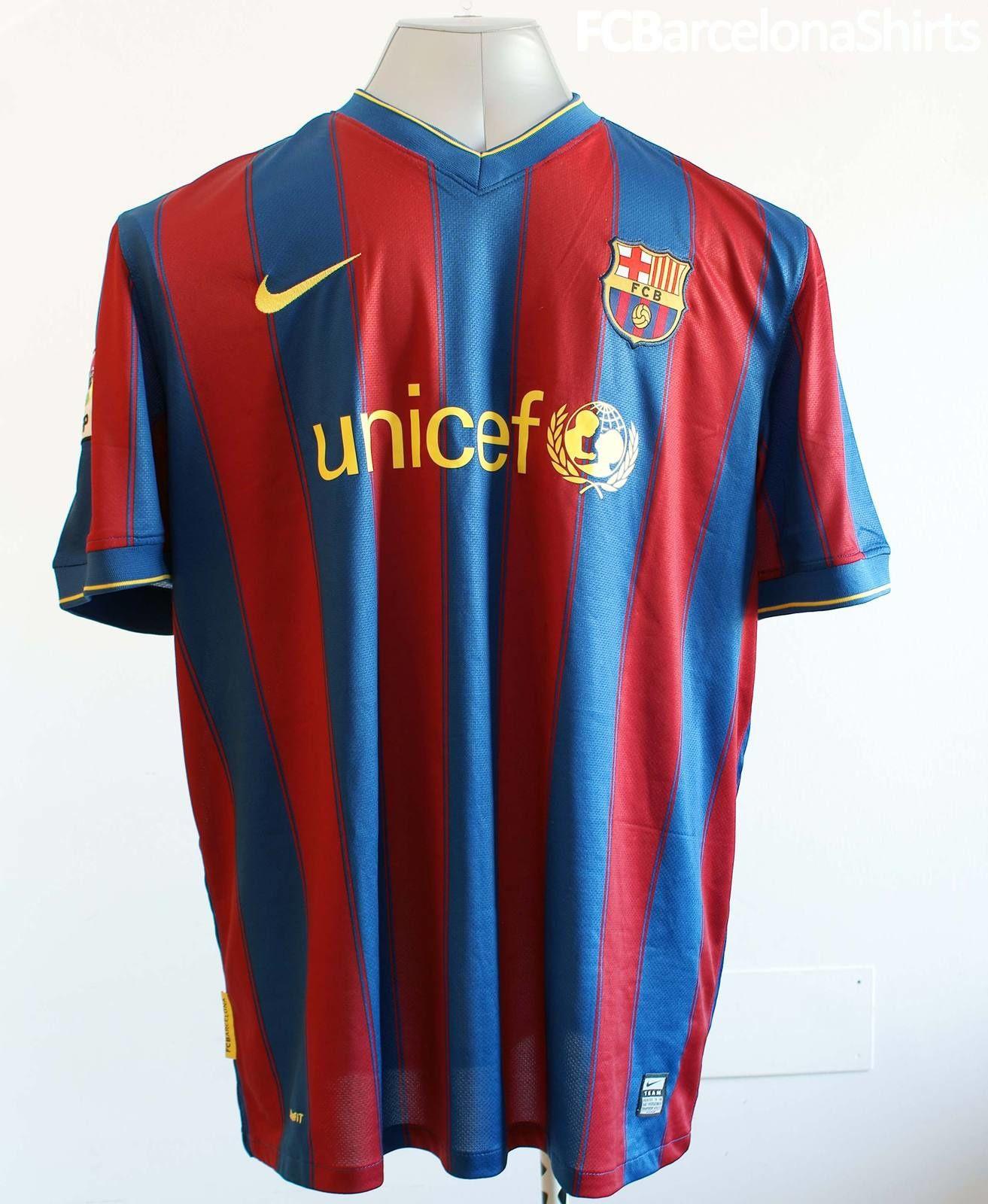 Les maillots du Barça