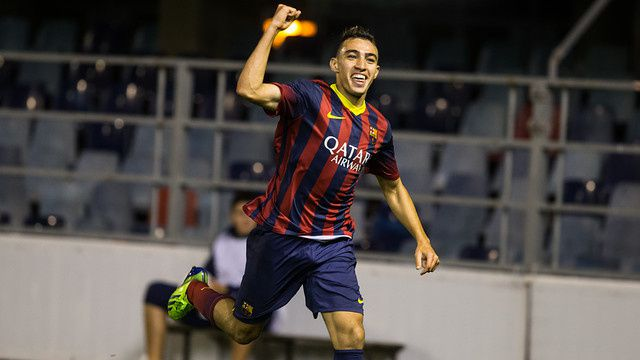 Munir a prolongé son contrat jusqu'au 30 Juin 2017. / Munir amplía su contrato hasta el 30 de junio de 2017. / Munir amplia el seu contracte fins al 30 de juny del 2017. / Munir extended his contract until June 30, 2017.