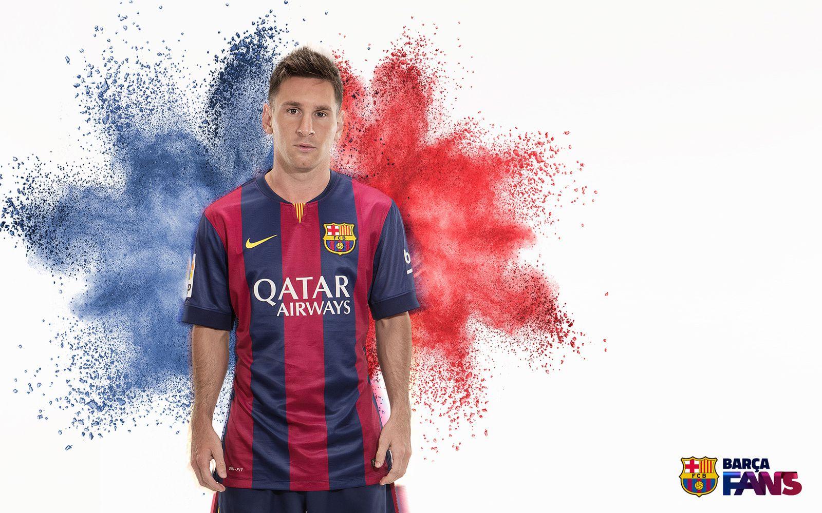 Wallpaper : Leo Messi !!!