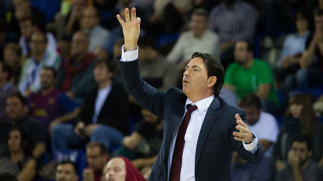 Basketball : Accord de principe pour la prolongation du contrat de Xavi Pascual. /  Baloncesto : Principio de acuerdo de renovación con Xavi Pascual. /  Basketball : Agreement in principle with Xavi Pascual. / Basketball : Agreement in principle with Xavi Pascual.