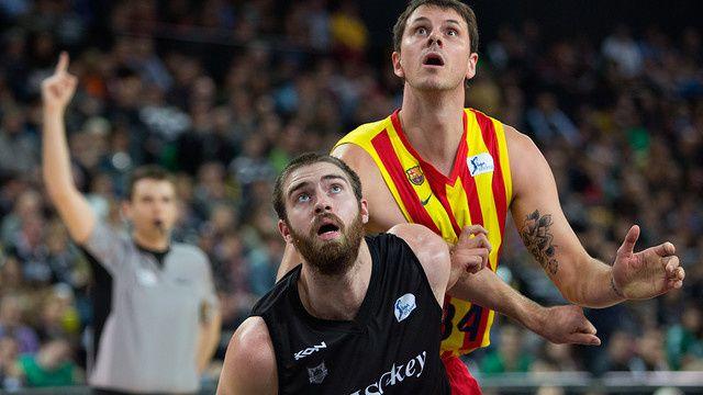 Basketball : Bilbao Basket - FC BARCELONA 73-67 (37-38). Liga Endesa. 15ème journée.