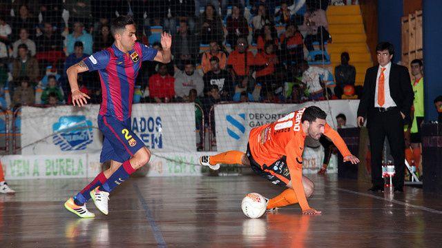 Futsal : FS Burela Pescados Rubén - FC BARCELONA 2-3 (2-1) Liga LNFS. 17ème journée.