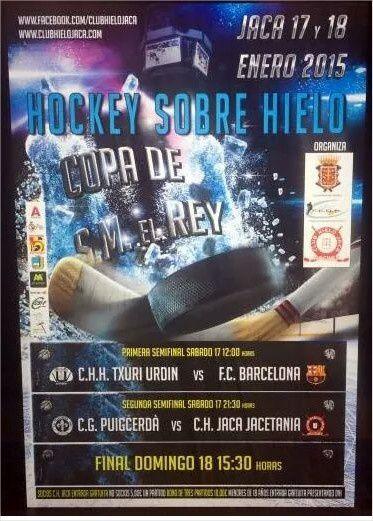 Hockey-sur-glace : Coupe du Roi - Finale : Barça - Puigcerda 6-2 (2-0, 2-0, 2-2) Le Barça remporte la 5ème du Coupe du Roi de son histoire !!! Força Barça !!! Més que un club !!! Més que Futbol !!!