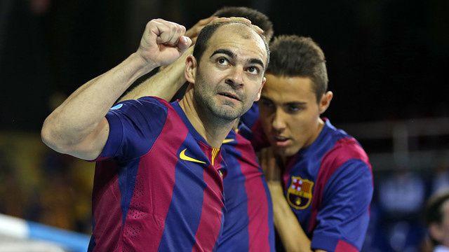 Futsal : Magna Navarra - FC BARCELONA 1-4 (0-2) Coupe d'Espagne LNFS. 1/2 Finale.