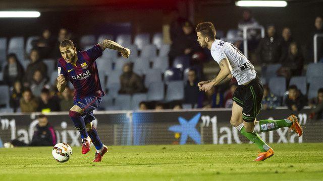 Football Barça B : FC BARCELONA B - Racing Santander 1-1 (0-0). Liga Adelante Segunda A. 29ème Journée.