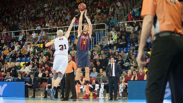Basketball : FC BARCELONA - Montakiy Fuenlabrada 88-82 (42-35). Liga Endesa. 24ème journée.
