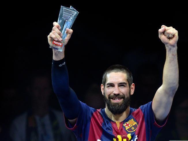 """Josep Maria Bartomeu: &quot&#x3B;Karabatic est le Messi du handball&quot&#x3B; / Josep Maria Bartomeu : """"Karabatic es el Messi del balonmano"""" / Josep Maria Bartomeu : &quot&#x3B;Karabatic és el Messi de l'handbol&quot&#x3B; / Josep Maria Bartomeu : &quot&#x3B; Karabatic is Messi of the handball &quot&#x3B;"""