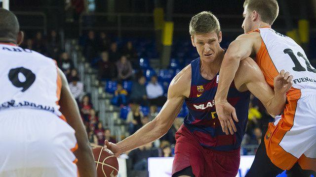 Basketball : FC BARCELONA LASSA - Montakit Fuenlabrada 76-65 (37-31). Liga Endesa. 8ème Journée.