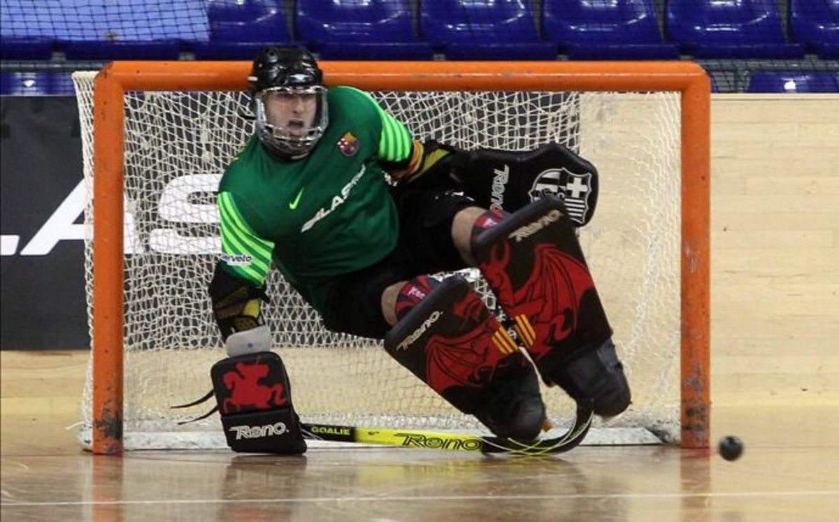 Rink-Hockey : SL Benfica - FC BARCELONA LASSA 1-1 et 2-1 aux tirs au but (0-1). Euroligue.Final Four. Demi-Finale.