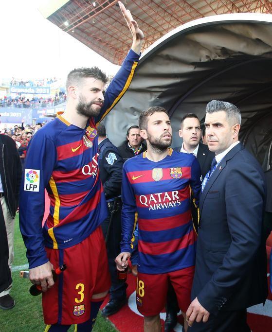 Célébrations Liga 2015-2016