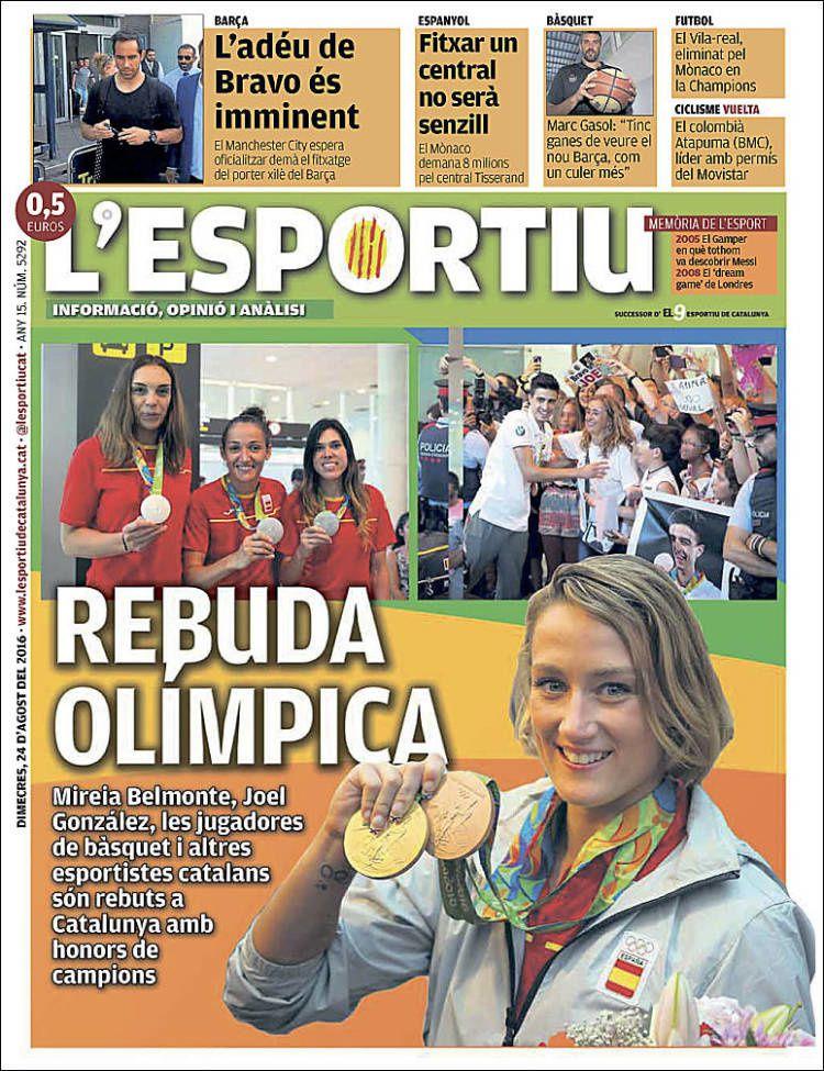 Unes de L'Esportiu (08/08/16 - 04/09/16)