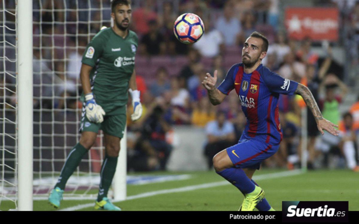 Football : FC BARCELONA - Deportivo Alavés 1-2 (0-1). LaLiga Santander. 3ème Journée.