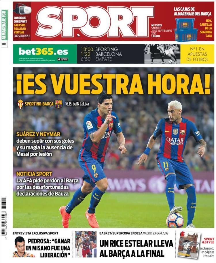 Unes de Sport (05/09/16 - 06/10/16)