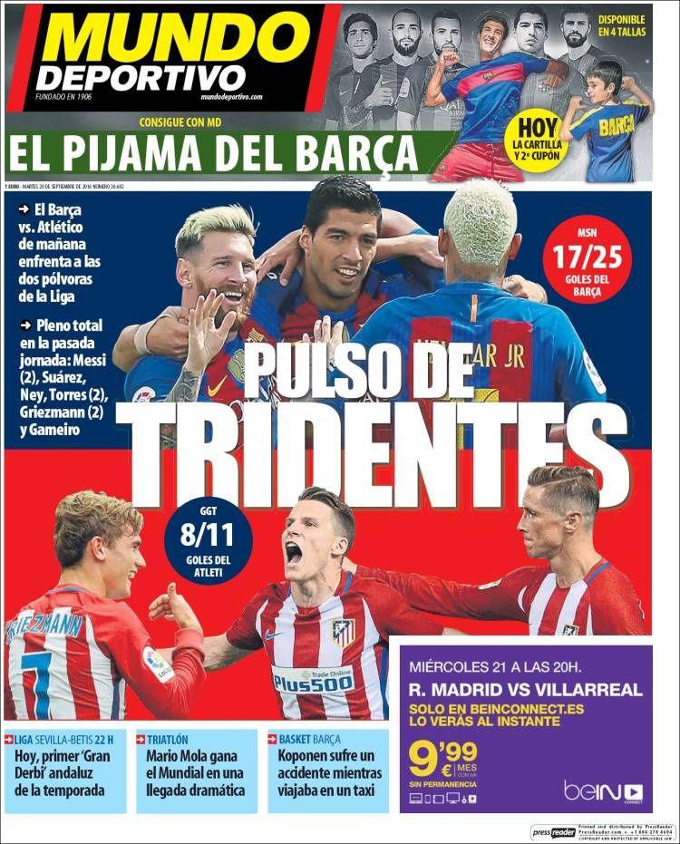 Unes de Mundo Deportivo (05/09/16 - 06/10/16)