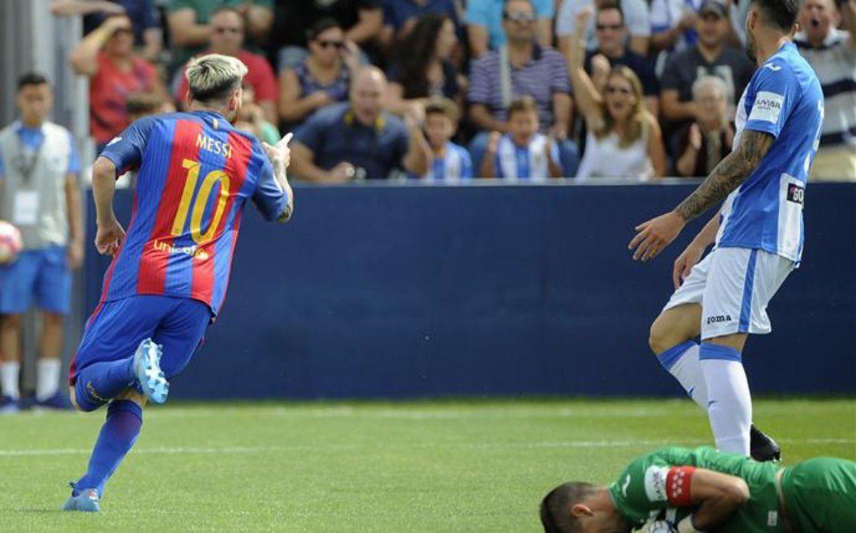Football : CD Léganes - FC BARCELONA 1-5 (0-3). LaLiga Santander. 4ème Journée.