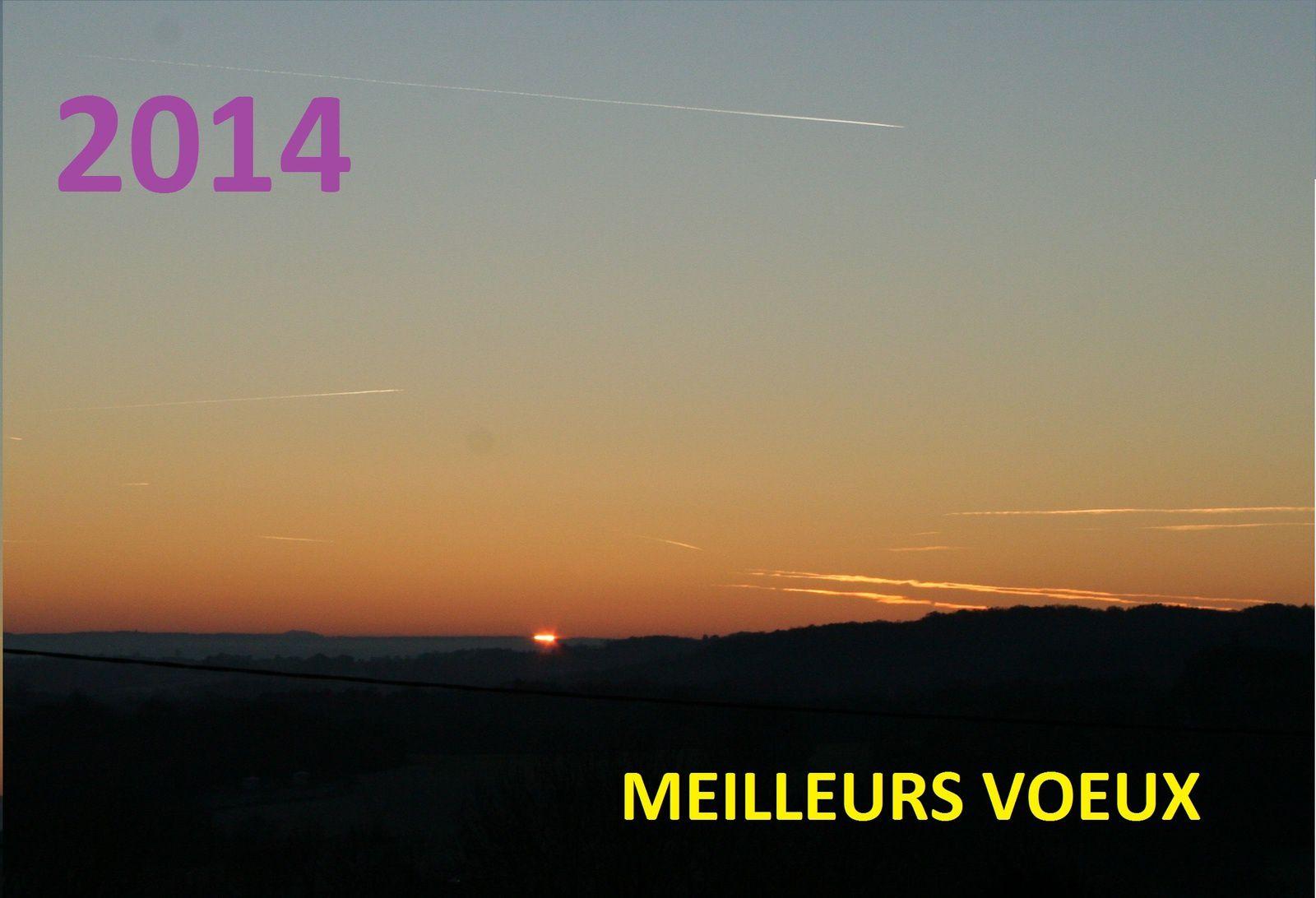 A L'AUBE DE 2014