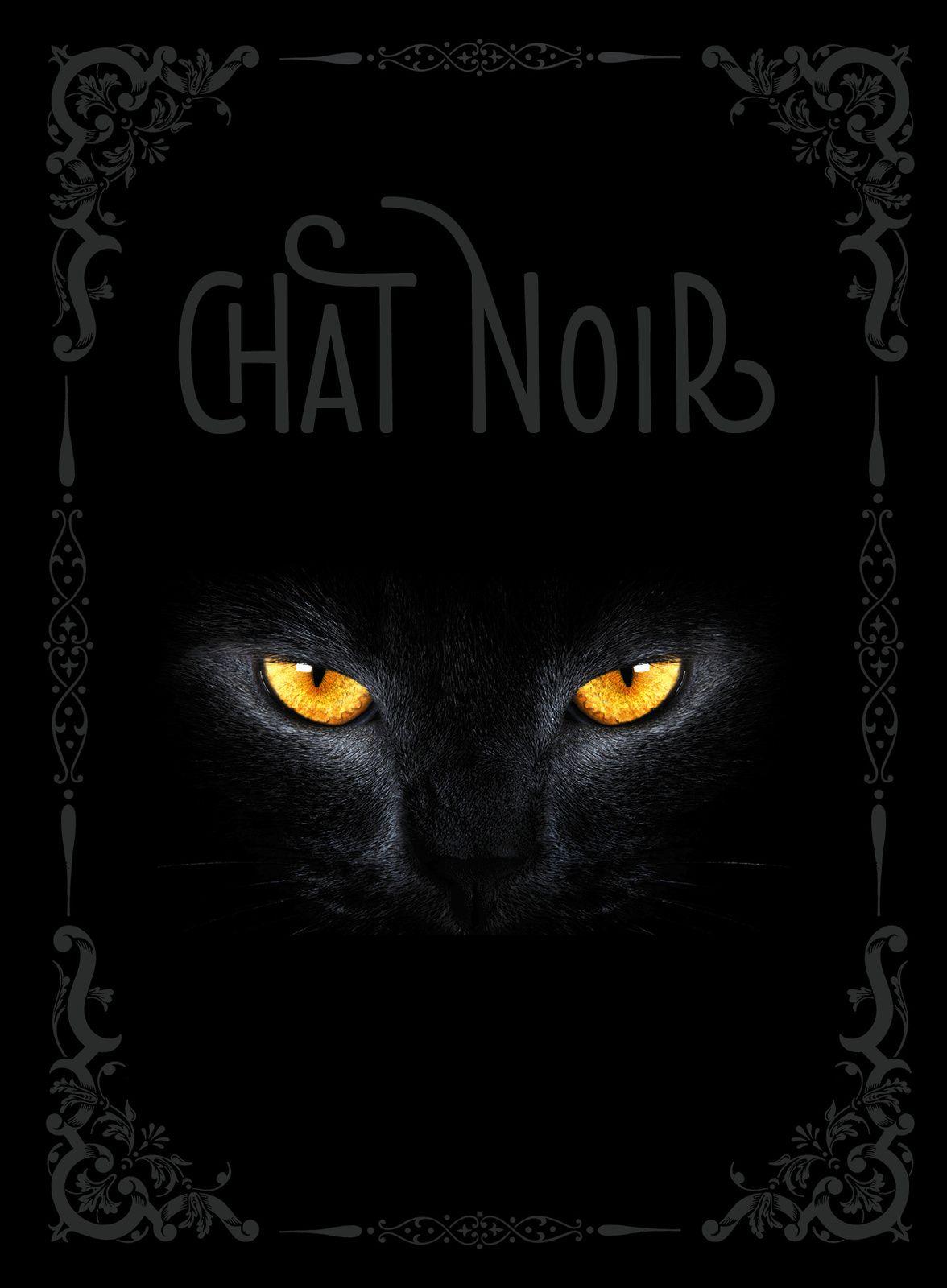 """Chat Noir"" de Nathalie  Semenuik"