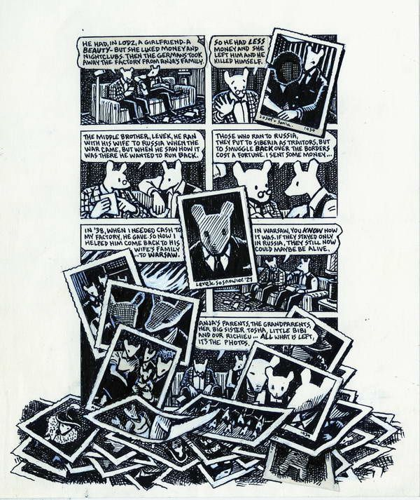 Maus, un survivant raconte, tome 2 : Et c'est là que mes ennuis ont commencé de Art Spiegelman