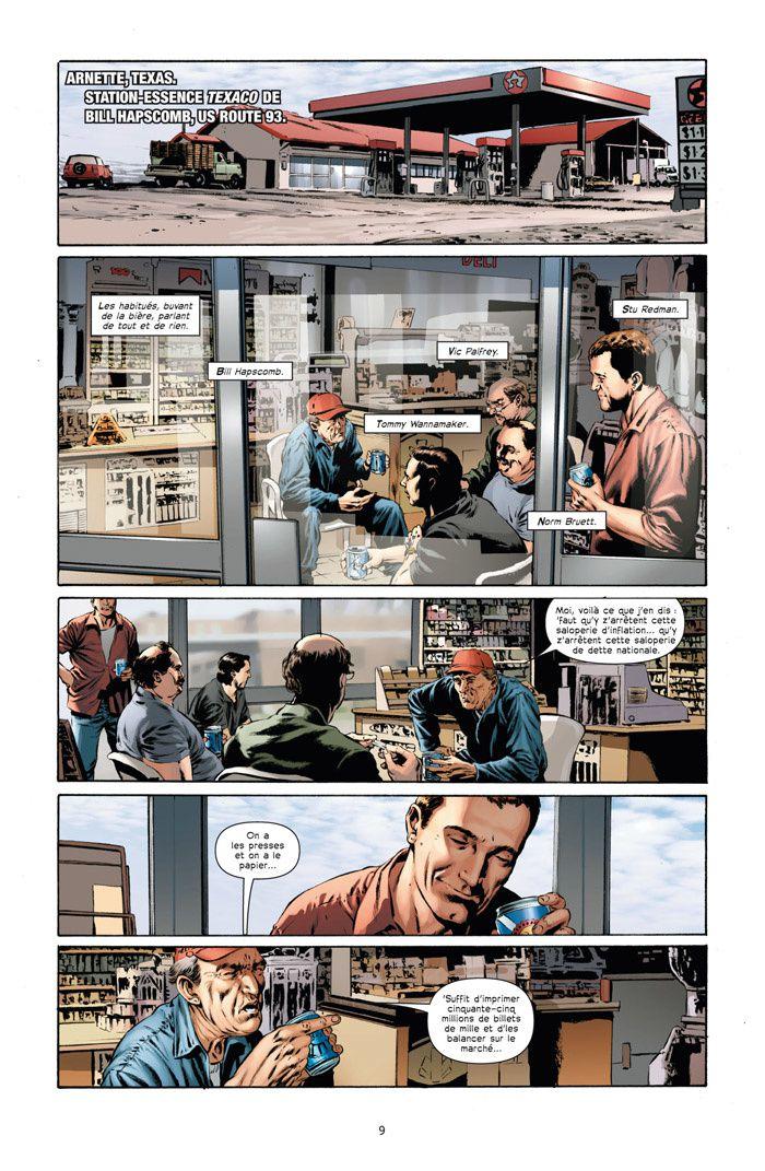Le Fléau (comics), tome 1 : Captain Trips de Stephen King et Roberto Aguirre-Sacasa