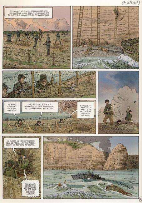 Normandie Juin 44, tome 1: Omaha Beach / Pointe du Hoc de Jean-Blaise Djian et Jérôme Félix
