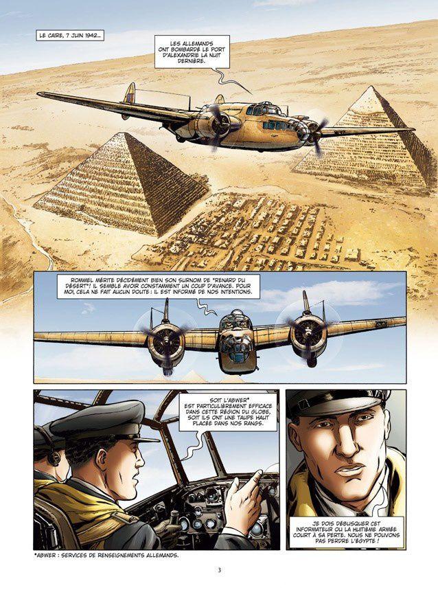 Lady Spitfire, tome 4 : Desert air force de Sébastien Latou, Maza et Pierre Schelle