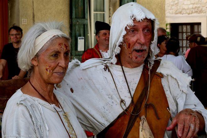 Fête Médiévale à Velleron en août 2016