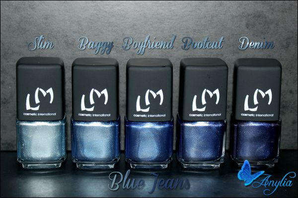 Collection Blue Jeans LM Cosmetic