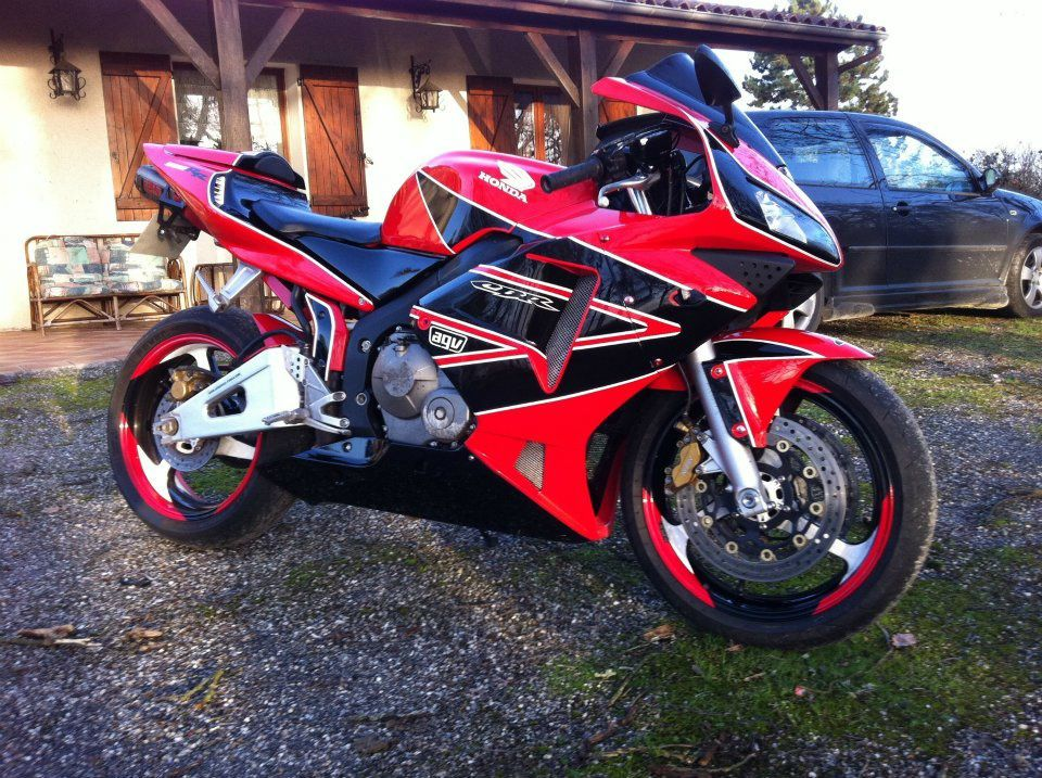 Photos clients honda cbr 600 rr 03 04 carenagebike for Deco 600 cbr