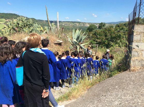 NaturArte a scuola, alla scoperta delle grotte