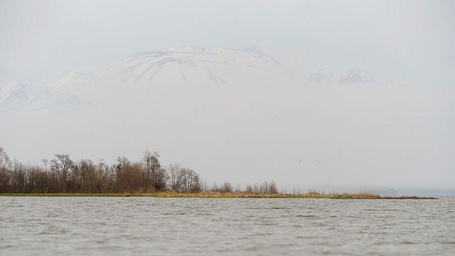 Le lac Kronotskoye.