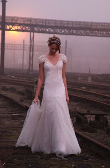 Robe de mariée Emmanuelle Junqueira
