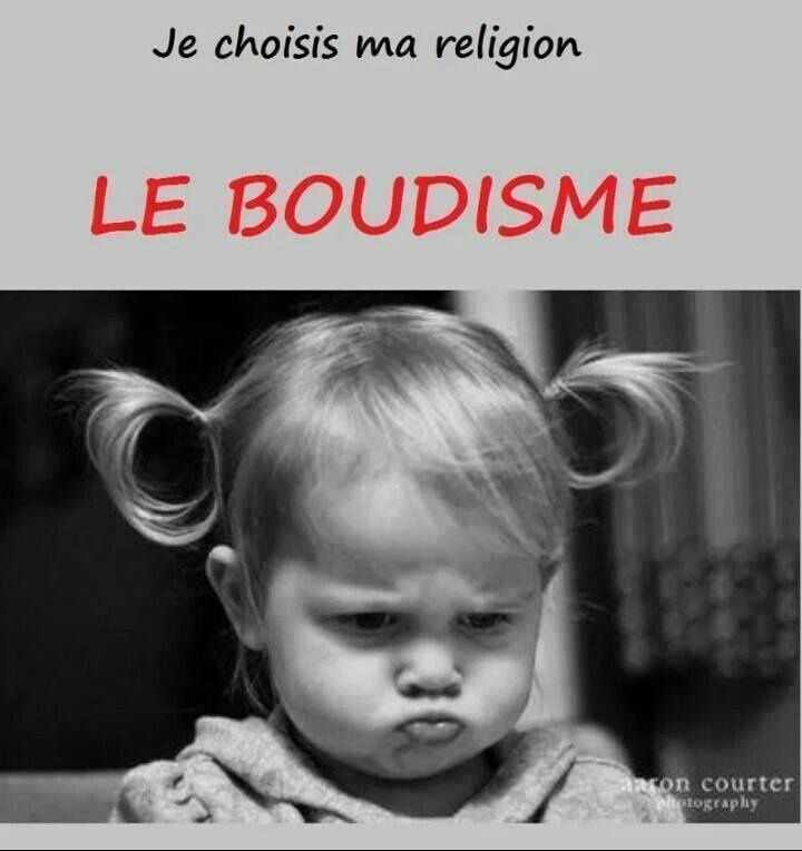 Je choisis ma religion....