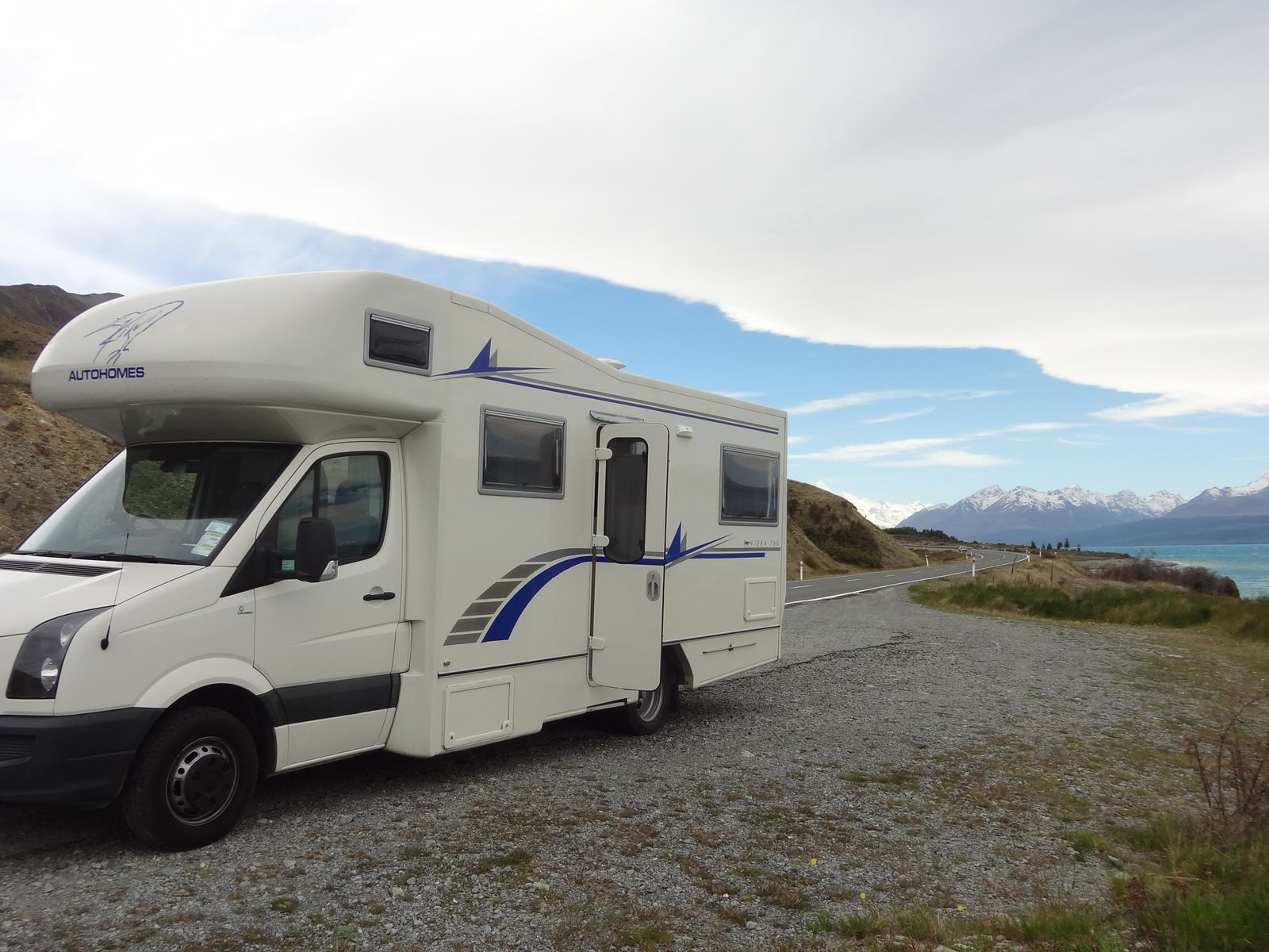 Après le Lake Tekapo, direction le Mont Cook !