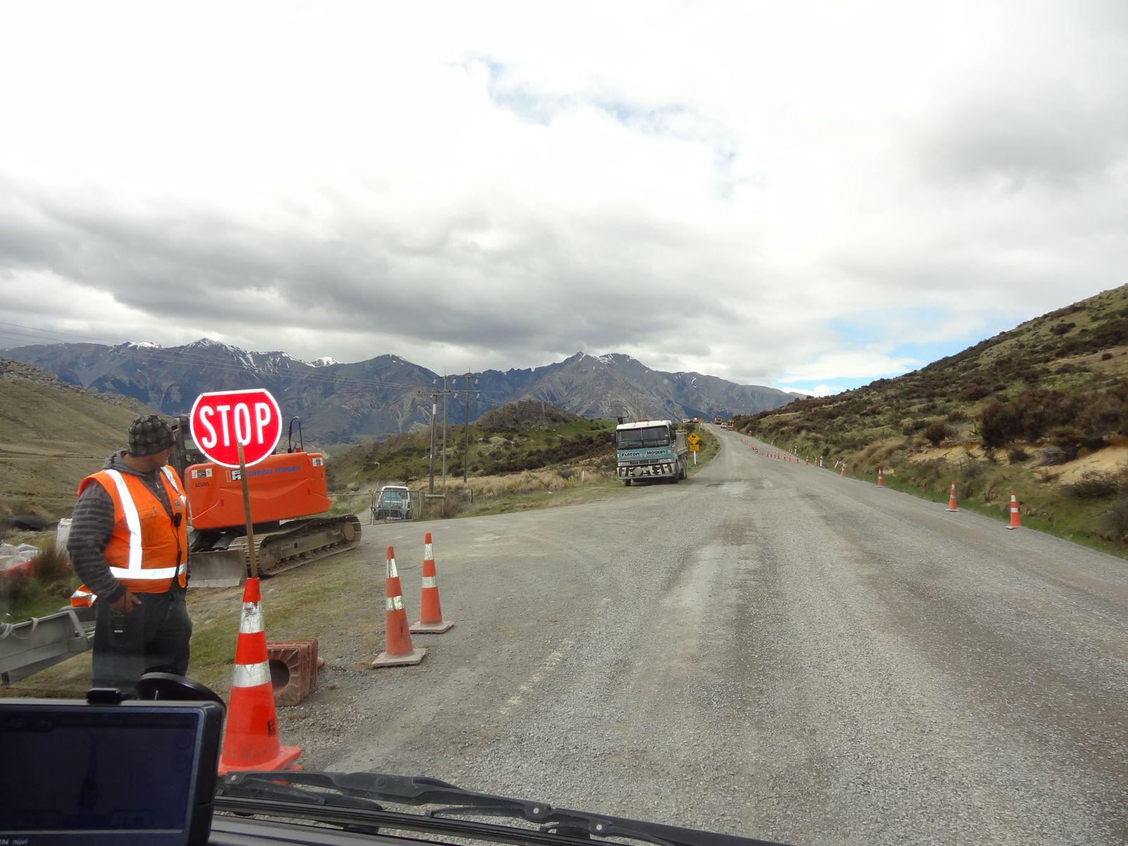 La route SH73 traverse d'ouest en est l'île du sud - 22 &amp&#x3B; 23 novembre 2012