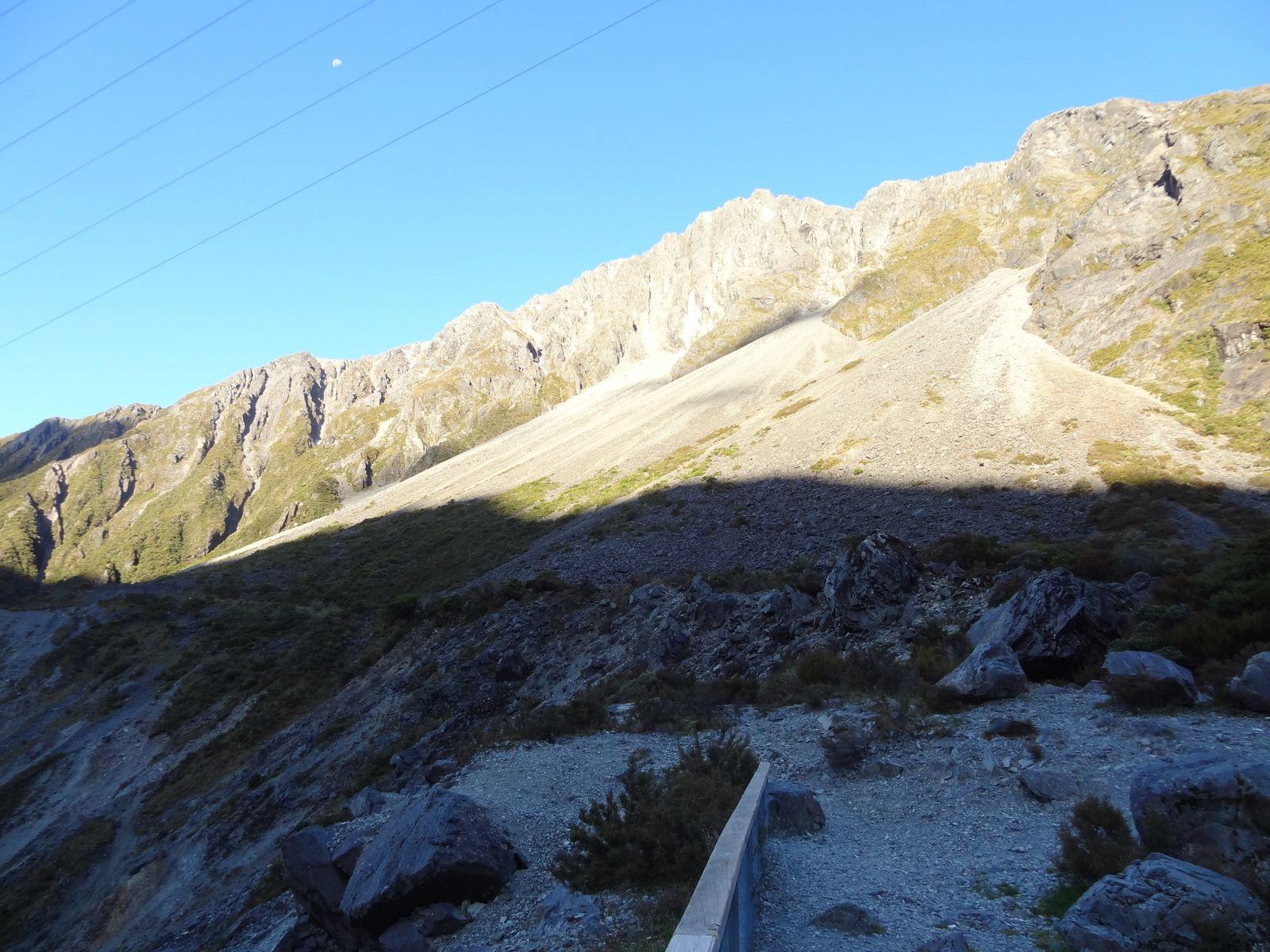 Le col d'Arthur's Pass culmine à 924m d'altitude.