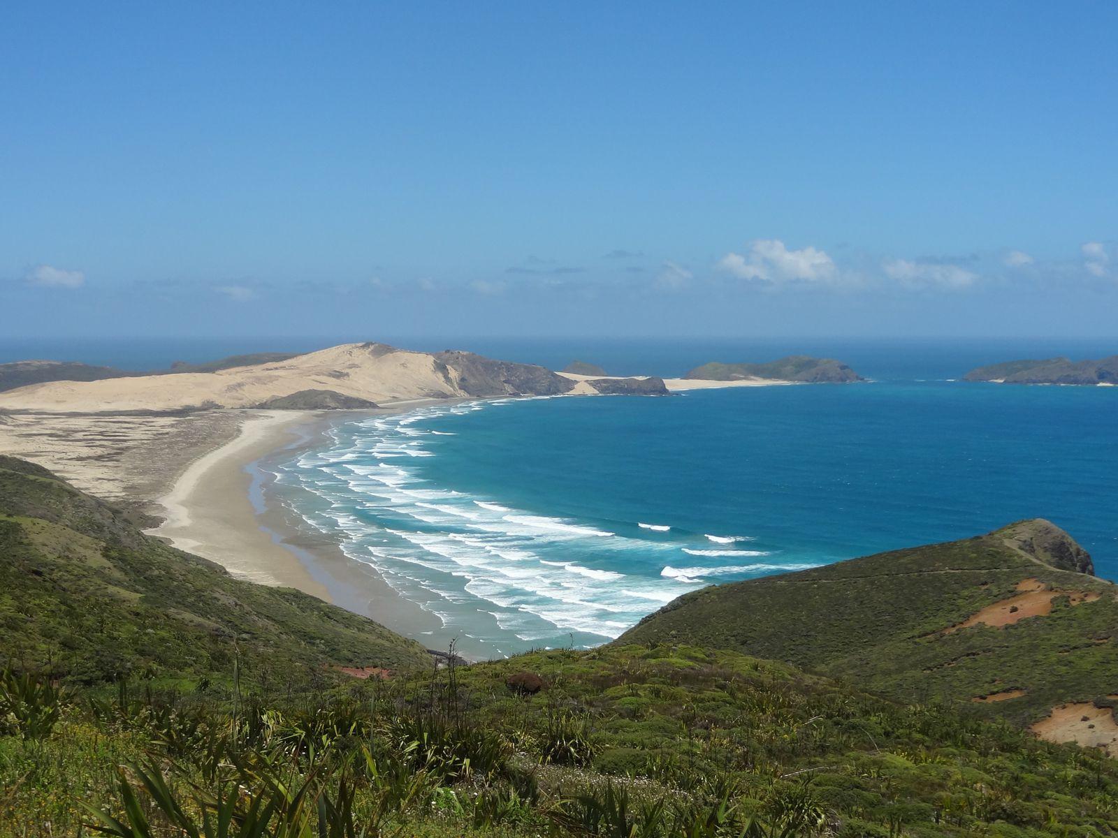 Serait-ce le bout du monde ? Le croisement entre la mer de Tasmanie et l'Océan Pacifique ?