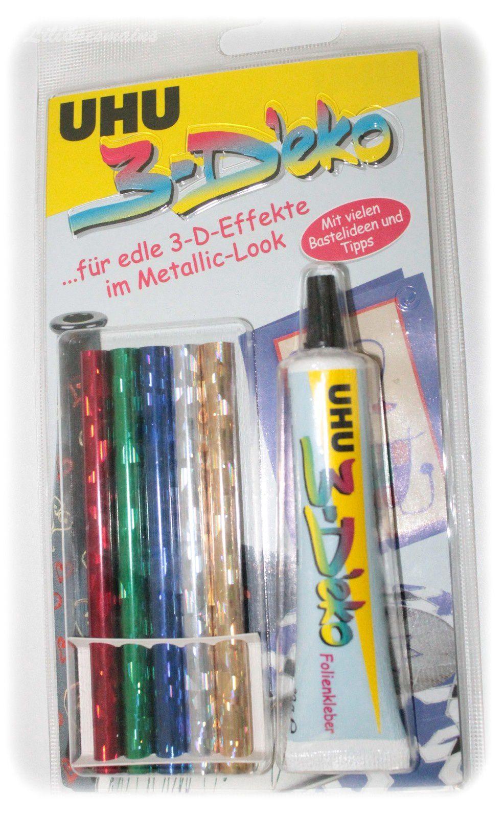 1 kit à foil pour tissus que je testerai sur mes ongles... acheté 1€ àAllerlei (Saarbrucken - Allemagne)