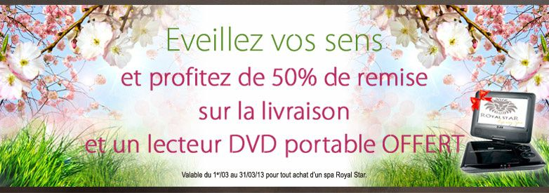 promotion royalstar lyon mars 2013 royalstar luxury spa lyon. Black Bedroom Furniture Sets. Home Design Ideas