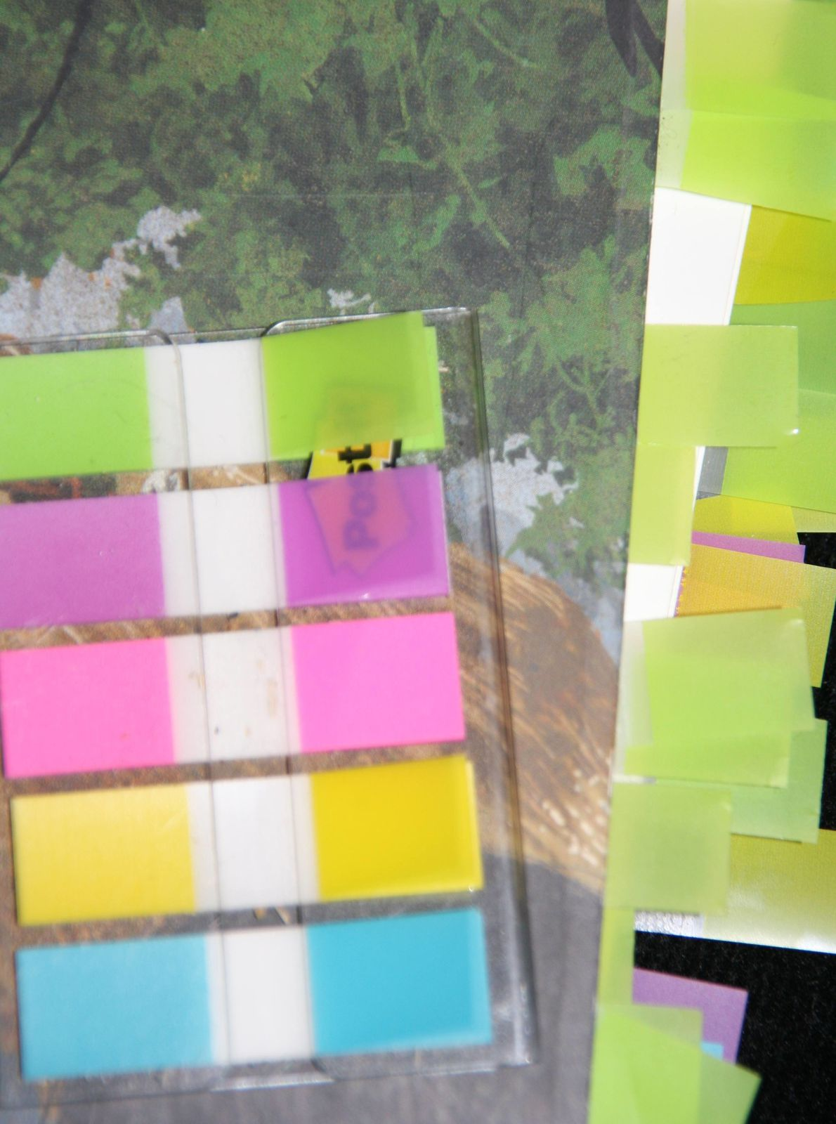 Lire utile et en couleurs : la post -it attitude!