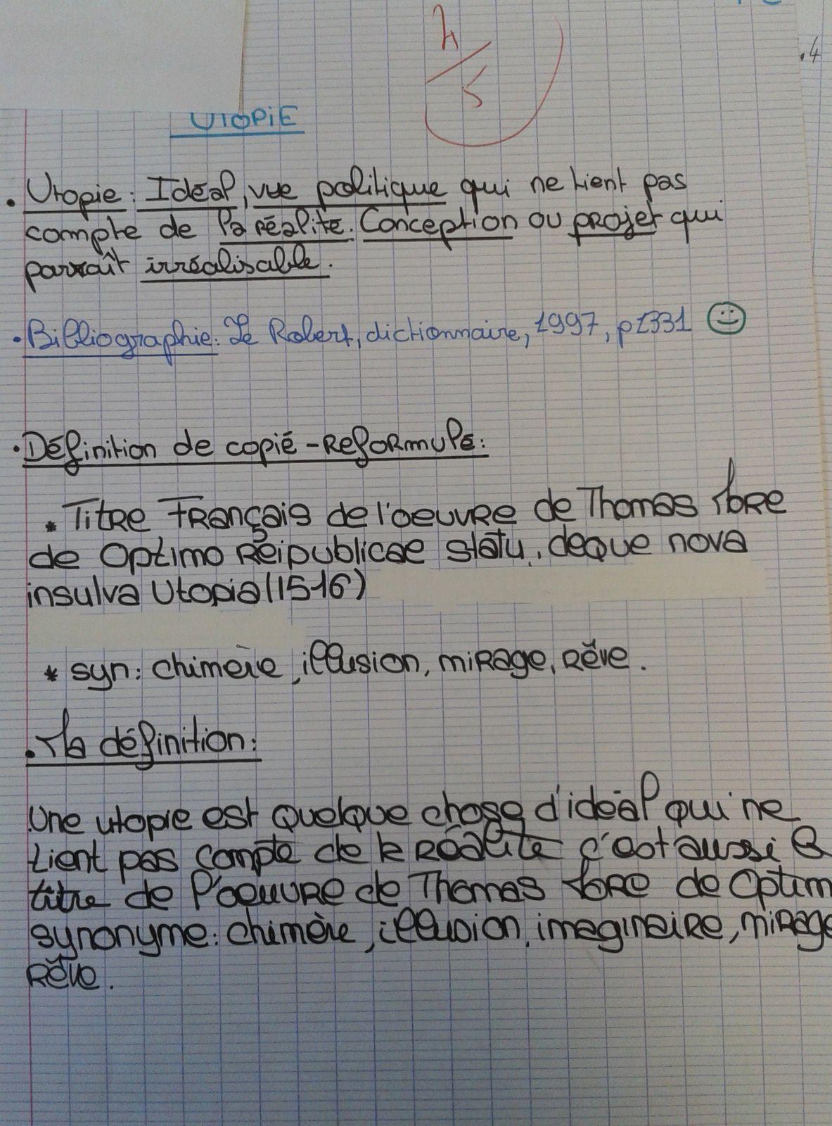 Document 4. Exemple d'évaluation (document papier)