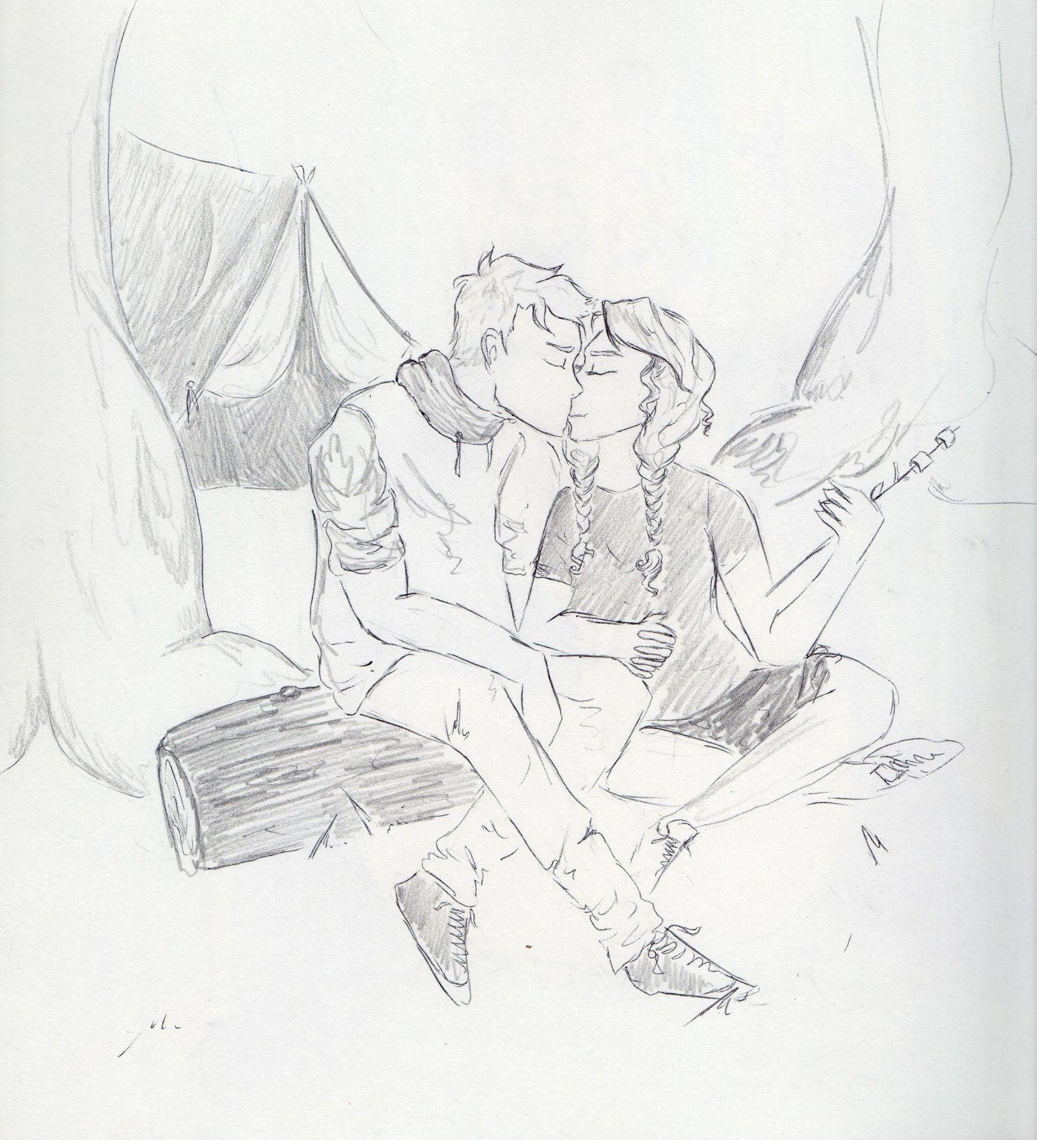 un peu d 39 amour dans les dessins dessins by emmie. Black Bedroom Furniture Sets. Home Design Ideas
